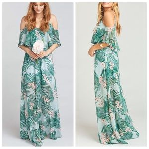 Show Me Your Mumu Caitlin Hanalei Dream Maxi Dress